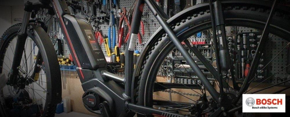 Bosch E-Bike Inspektion, Reparatur mit Service Update