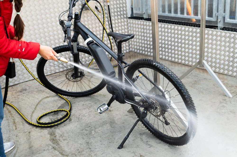 Professionelle Fahrradreinigung