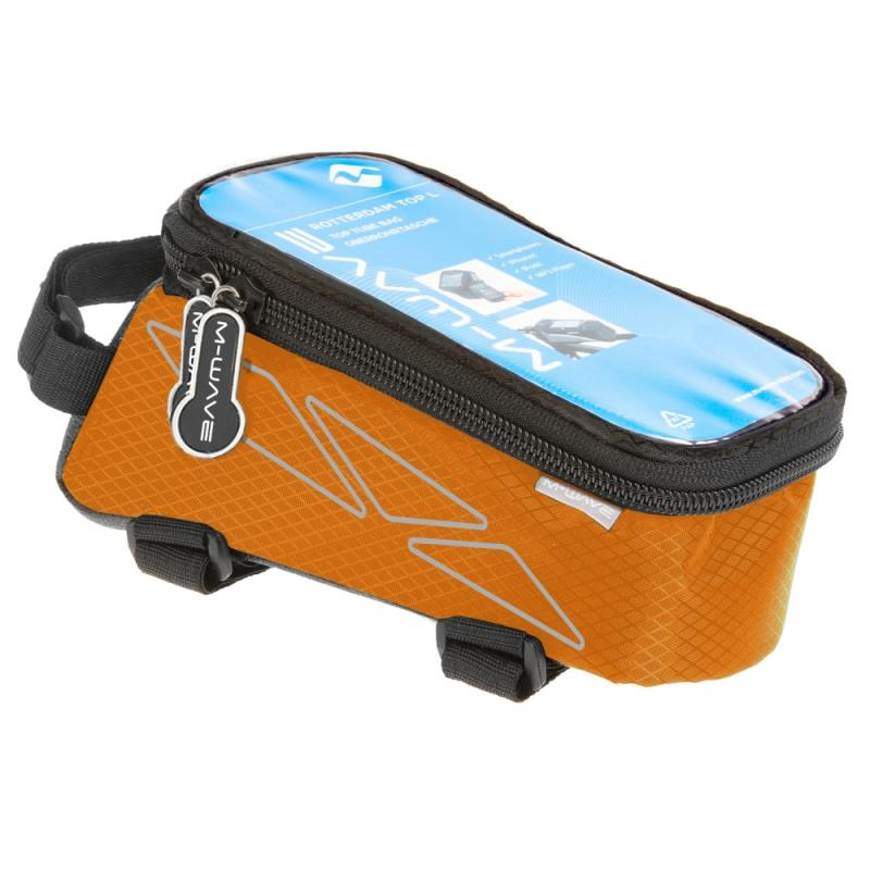 M-Wave Oberrohrtasche  Rotterdam Top L orange